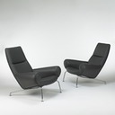 Hans Wegner Ox Lounge Chairs